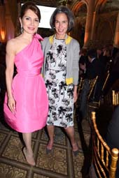 Philanthropists Jean Shafiroff and Honoree Alice Tisch.  Photo by:  Rose Billings/Blacktiemagazine.com