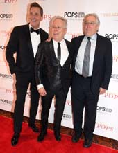 Musical Director &Conductor Steve Reineke, Honoree is Alan Menken,and Robert De Niro.  Photo by:  Rose Billings/Blacktiemagazine.com