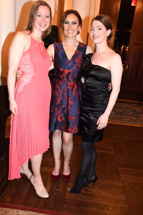 Sarah Hutchinson, Laura Benanti, Laura Sudduth.  Photo by:  Rose Billings/Blacktiemagazine.com