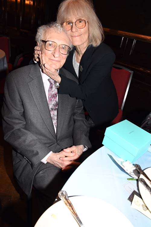 Sheldon Harnick and Margery.  Photo by:  Rose Billings/Blacktiemagazine.com