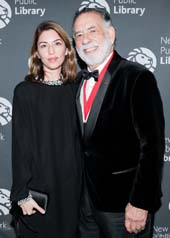 Sofia Coppola, Francis Ford Coppola.  Photo by:  Carl Timpone/BFA.com