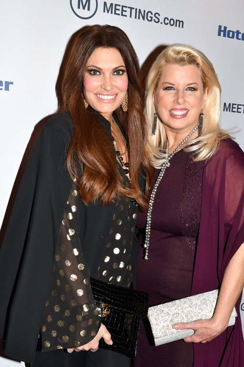 Kimberly Guilfoyle and Rita Cosby.  Photo by: Rose Billings/Blacktiemagazine.com