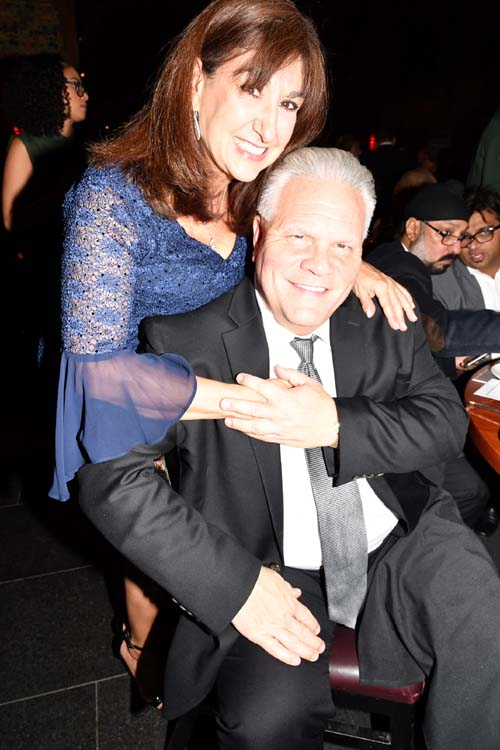 Vanessa Sperber and her special gentleman.  Photo by:  Rose Billinsg/Blacktiemagazine.com
