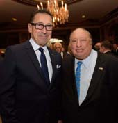 Daniel A. Nigro, Commissioner of the New York City Fire Department  and John A. Catsimatidis, Chairman & CEO of Red Apple Group. Photo credit Jill Nelson