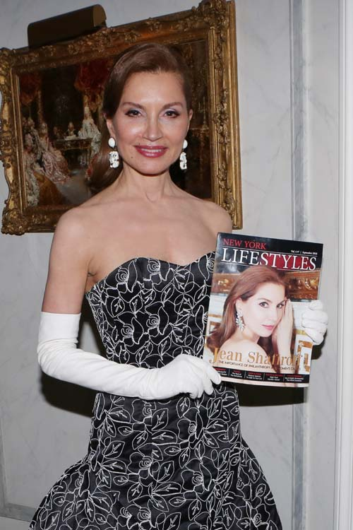 Philanthropist Jean Shafiroff celebrated her cover of New York Lifestyles Magazine. September 2018 issue Photo by: �Patrick McMullan