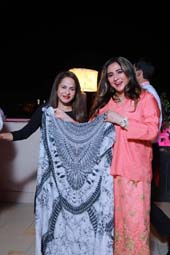 Ramola Bachchan & Meera Gandhi .  Photo Courtesy of The Giving Back Foundation