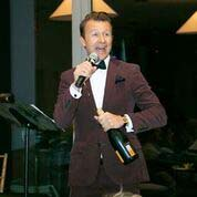 Lucas Hunt - Auctioneer -Photo by:  Lenny Stucker