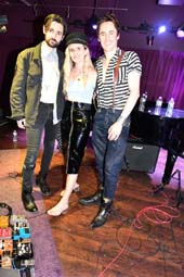 Zane Carney, Paris Carney & Reeve Carney .  Photo by:Rose Billings/Blacktiemagazine.com