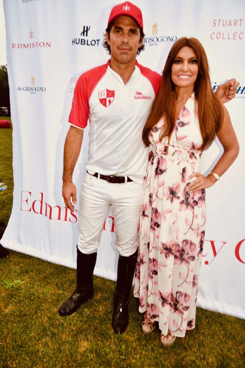 Nacho Figueras and Kimberly Guilfoyle. Photo by:  Rose Billings/Blacktiemagazine.com