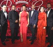Jon M. Chu, Leslie Odom Jr., Chinonye Chukwu, Paul Tazewell, Tiler Peck, Aldis Hodge - Photo by Jamie McCarthy, Getty Images