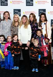 Gretchen Englander, Christina Teagle, Amanda Goldworm, Lizzy Quick, Michelle Antonini, Stacey Lowenberg, Sana Clegg, Samantha Miller Lawi, Dr. Gerald Loughlin. - Paige Teagle, Max Goldworm, Caroline Quick, Marco Antonini, Luca Antonini, Camilla Clegg.  Photo by:  4 Eyes Photography