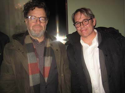 Kenneth Lonergan and Matthew Broderick.  Photo by:  Aubrey Reuben