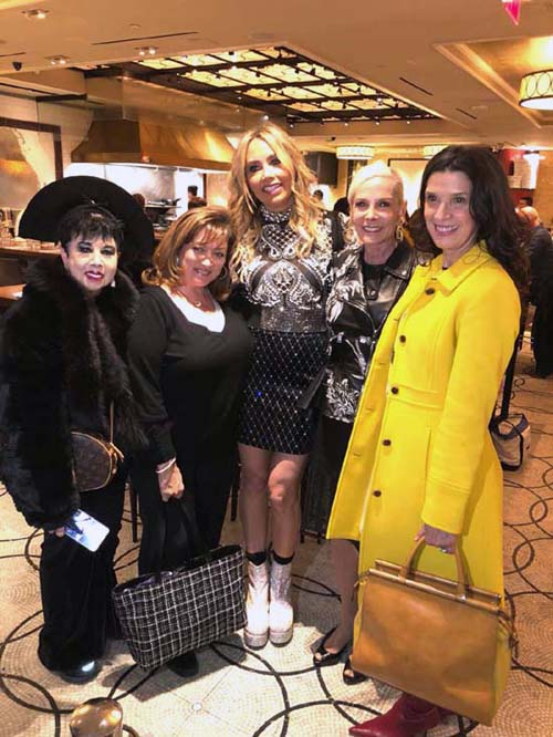 Rosemary Ponzo, Ivonne Camancho, Lieba Nesis, Michele Herbert and Kathlean Giordano.  Photo by:  Rose Billings/Blacktiemagazine.com
