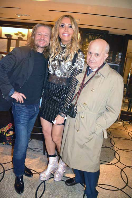 Ed Romanov, Lieba Nesis and Ernest Schmatolla.  Photo by:  Rose Billings/Blacktiemagazine.com