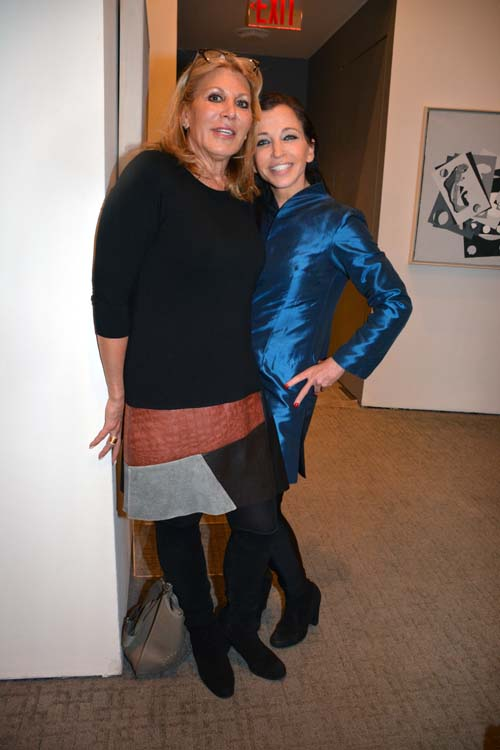 Dottie Herman and  Wendy Diamond.  Photo by:  Rose Billings/Blacktiemagazine.com