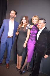 Donald Trump, Jr., Kimberly Guilfoyle,  Marla Maples and Zang Toi. Photo by:  Rose Billings/Blacktiemagazine.com
