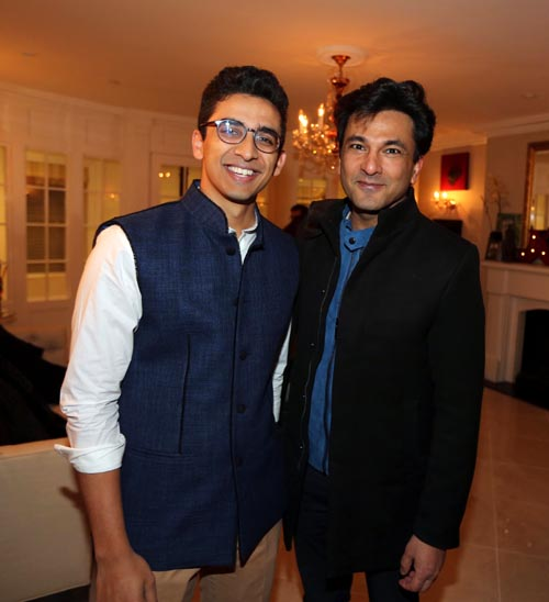 Kabir Gandhi and Vikas Khanna, Photo credit: ©Jaffer Snaps India