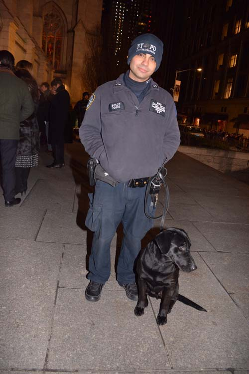 NYPD Officer Bosch.  Photo by:  Rose Billings/Blacktiemagazine.com