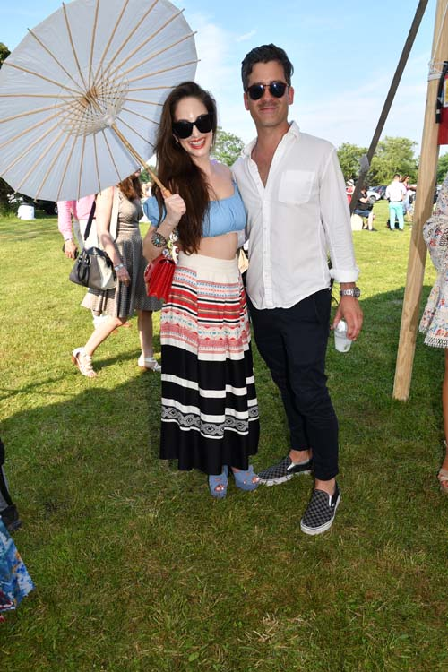 Alexa Ray Joel and her wonderful Ryan Gleason.  Photo by:  Rose Billings/Blacktiemagazine.com