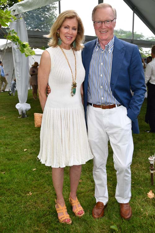 Ellen Scarborough and Chuck Scarborough. Photo by:  Rose Billings/Blacktiemagazine.com