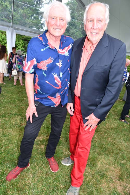 T. Anthony Caron and Jonathan McCann. Photo by:  Rose Billings/Blacktiemagazine.com