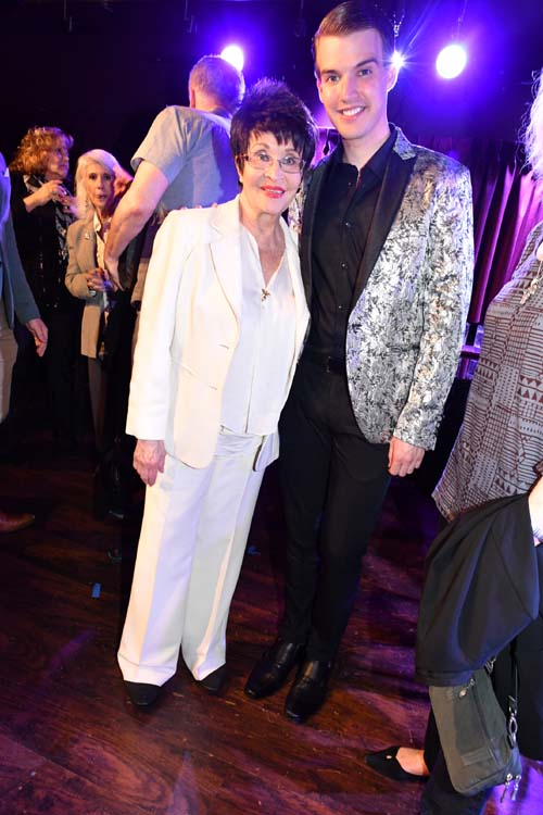 Chita Rivera and Mark William... So Special. Photo by:  Rose Billings/Blacktiemaagzine.com