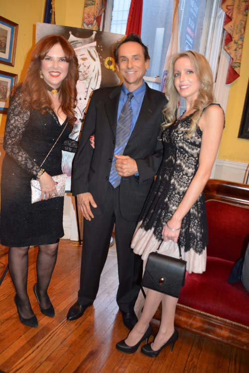 Lorraine Silvetz, Larry Romano and Julianne Michelle. Photo by:  Rose Billings