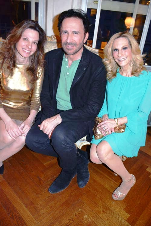 Diane Madfes, Dermatologist, Peter Tomas and Randi Schatz.  Photo by:  Rose Billings/Blacktiemaagzine.com