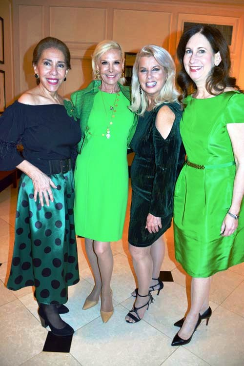 Gilda Sacasa, Michelle Herbert, Rita Cosby and Penny Grant.  Photo by:  Rose Billings/Blacktiemagazine.com