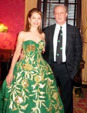 Jean Shafiroff and Patrick McMullan.  Photo by:  Joyce Brooks/Blacktiemaagzine.com