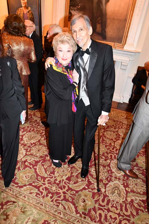 Honoree Marilyn Maye  with President DTC and producer of The Gala Ray Fox.  Photo by: Rose Billings/Blacktiemaagzine.com