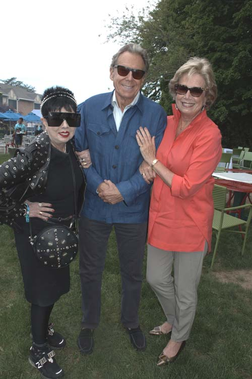 Rosemary Ponzo, Bill Boggs and Jane Rothschild.  Photo by:  Rose Billings/Blacktiemagazine.com