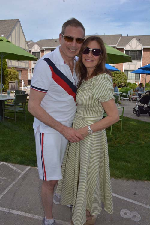 Kenneth and Maria Fisher at Memorial Weekend Barbecue at Southampton Inn.  Photo by:  Rose Billings/Blacktiemagzine.com