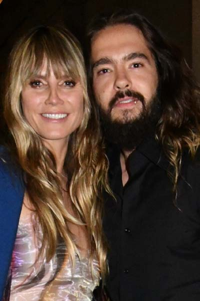 Heidi Klum and Tom Kaulitz.  Photo by:  RoseBillings/Blacktiemaagzine.com