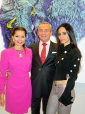 Jean Shafiroff, Franck Laverdin and  Elizabeth Shafiroff. {hoto by:  Joyce Brooks/Blacktiemagazine.com