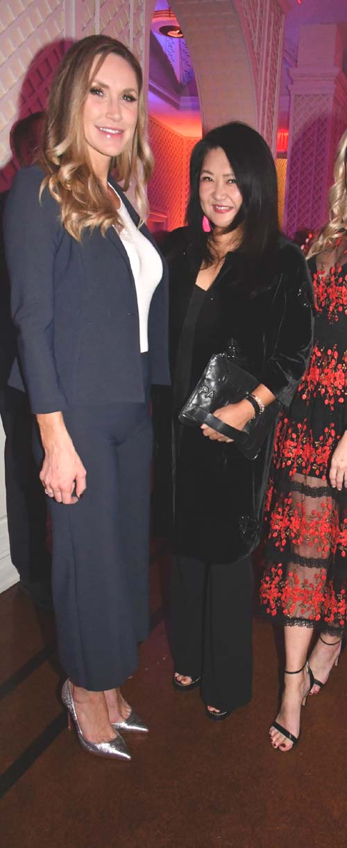 Lara Trump and Susan Shin. Photo by:  Rose Billings/Blacktiemagazine.com