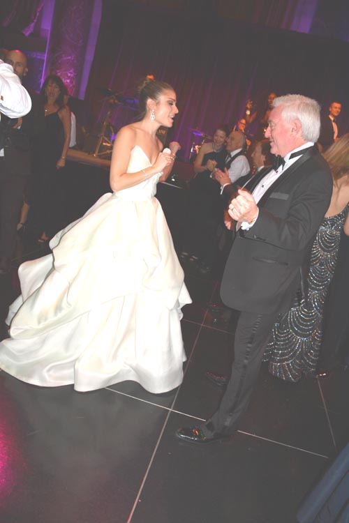 Clifford Sales MD's First dance with Jessica. Photo by:  Rose Billings/Blacktiemagazine.com