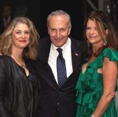 Honoree  Alicia Glen, Senator Chuck  Schumer, Honoree MaryAnne Gilmartin.  Photo by:  Alexa Hoyer