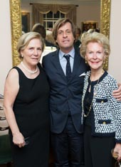 Kazie Metzger Harvey, Nicolas de Riv�re ( French  Ambassador to the United Nations), and Elizabeth Stribling. Photo by: John Sanderson/AnnieWatt.com