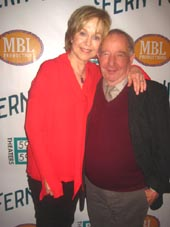 Michael Tucker with Jill Eikenberry.  Photo by:  Aubrey Reuben