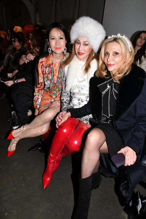 Chiu-Ti Jansen, Lucia Hwong Gordon and Nicole Salmasi. Photo by:  Rose Billings/Blacktiemagazine.com