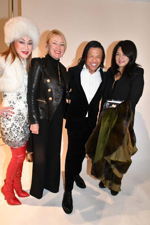 Lucia Hwong Gordon, Janna Bullock, Zang Toi and Susan Shin...Lovely!. Photo by:  Rose Billings/Blacktiemagazine.com
