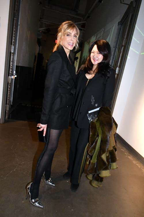 Marla Maples and Susan Shin. Photo by:  Rose Billings/Blacktiemagazine.com