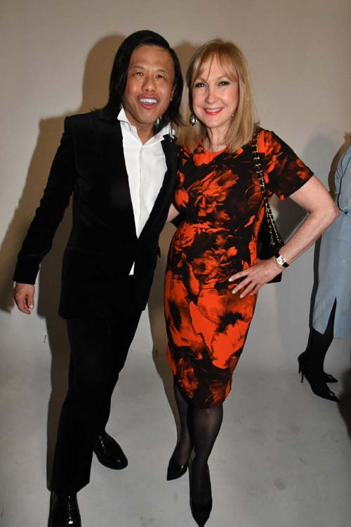 Zang Toi and Katlean De Monchy.  Photo by:  Rose Billlings/Blacktiemagazine.com