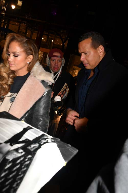 Jennifer Lopez and A-Rod.  Photo by:  Rose Billings/Blacktiemagazine.com