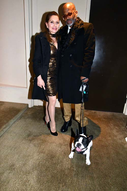 Jean Shafiroff and Damon Dash and his pup a swell party.  Photo by:  Rose Billings/Blacktiemagazine.com