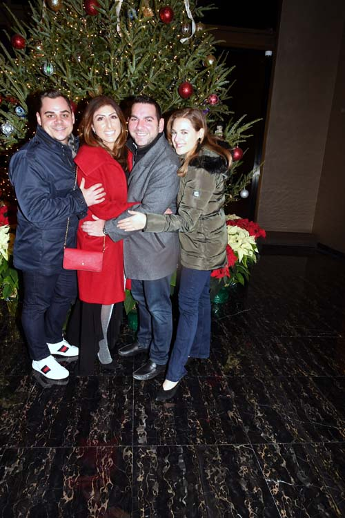 Michael D'Annunzio,Maria D'Annunzio,Adam Spitalnick,Paige Kaplan.  Photo by:  Rose Billings/Blacktiemagazine.com