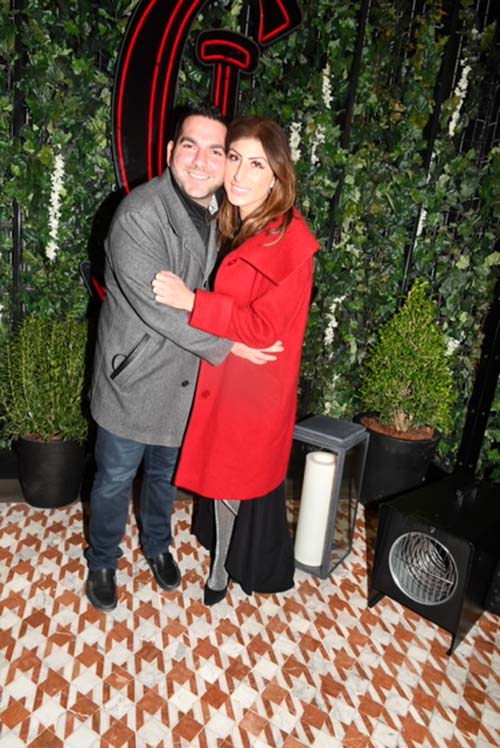 Maria D'Annunzio and Adam Spitalnick.  Photo by: Rose Billings/Blacktiemagazine.com