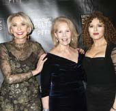 Julie Halston, Daryl Roth and Bernadette Peters Photo by Monica Simones