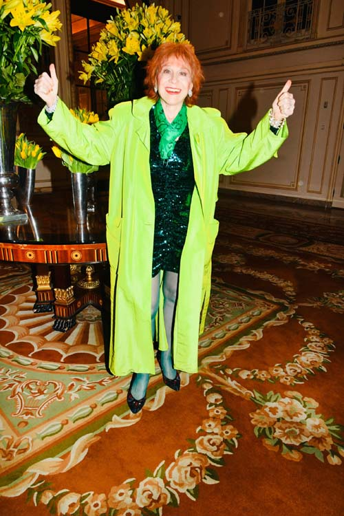 Everyone�s favorite psychologist Dr. Judy Kuriansky celebrating St. Patty�s Day at the Plaza. Photo by:  Rose Billings/Blacktiemagazine.com